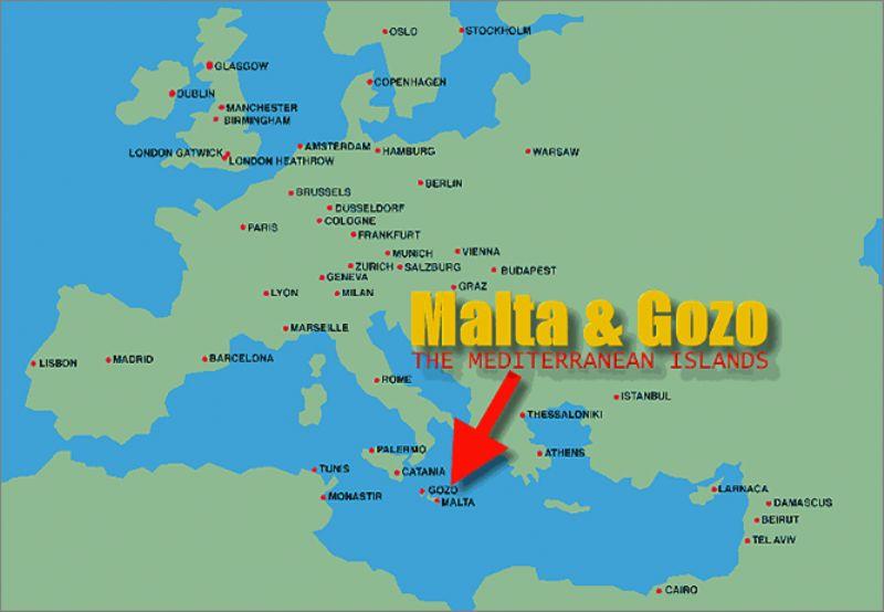 Остров мальта где находиться